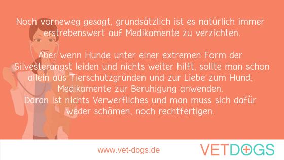 Silvesterangst bei Hunden, www.vet-dogs.de, www.vetdogs.de